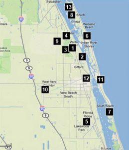 Vero Beach Golf Course Map