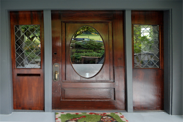 An easy Vero Beach home improvement could be to paint, re-finish, or replace your front door.