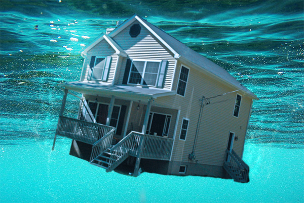 Many Vero Beach properties were still underwater (or upside down) on their mortgage in 2014