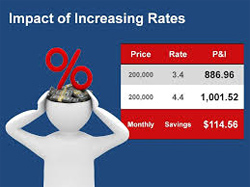 Increased Vero Beach mortgage rates have meant higher payments for those wanting to buy a home.