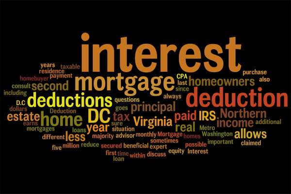 A first time Vero Beach home buyer can deduct mortgage interest on their taxes