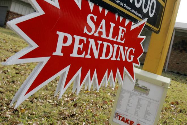 Pending home sales have climbed to a new 9-year high according to the National Association of Realtors