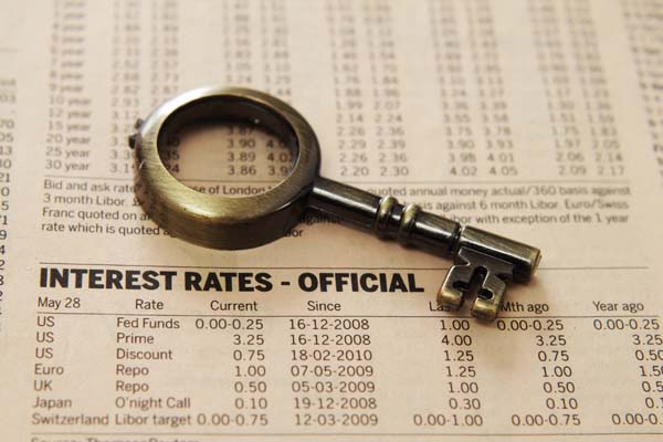 Vero Beach real estate interest rates have risen slightly over the past couple of months.